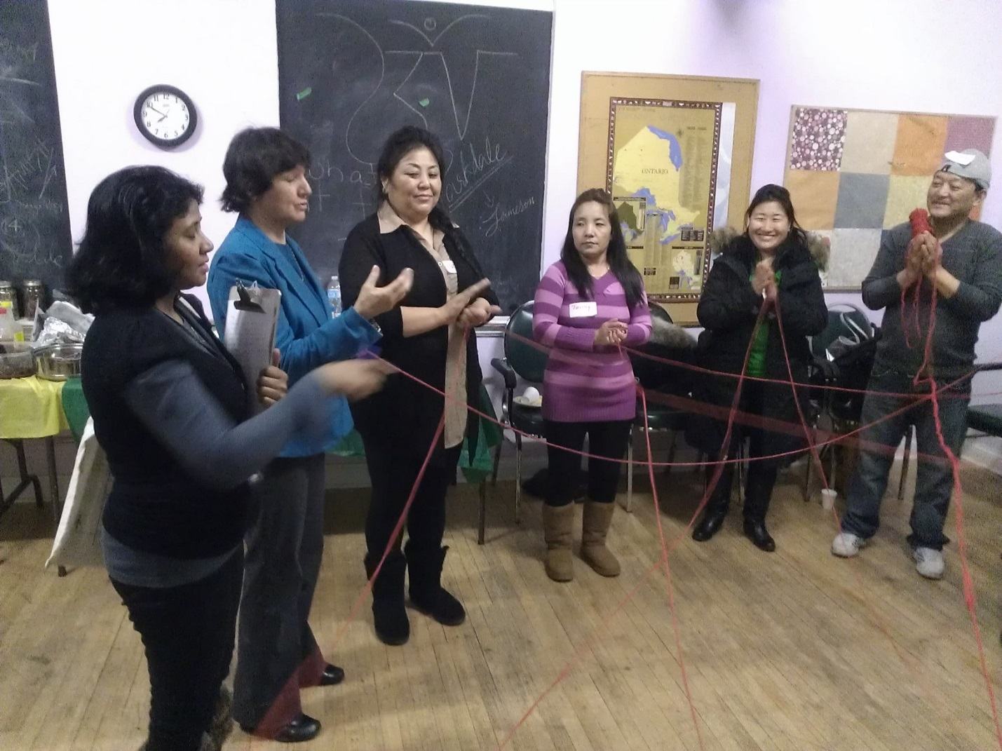 Connecting Families group activity
